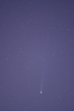 PENTAX K-30とAiNikkorED300mmF4.5でのISON彗星