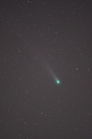 PENTAX K-30とAiNikkorED300mmF4.5でのラブジョイ彗星
