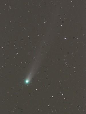 2013年12月15日早朝のラブジョイ彗星