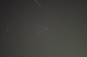 ラブジョイ彗星とふたご座群流星
