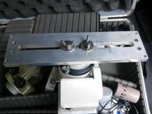 自作のスライドプレートをM6ネジで取り付けてみた